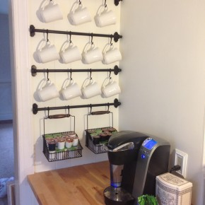 The Cutest Dang Coffee Nook You Ever Did See