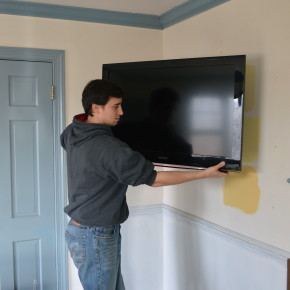 Mounting a Flatscreen TV