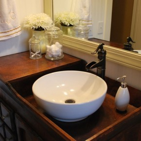 Bathroom Sinks In Bedroom bathroom | a farmhouse reborn