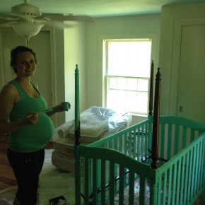 Painting a Crib With CeCe Caldwell's Clay Paint