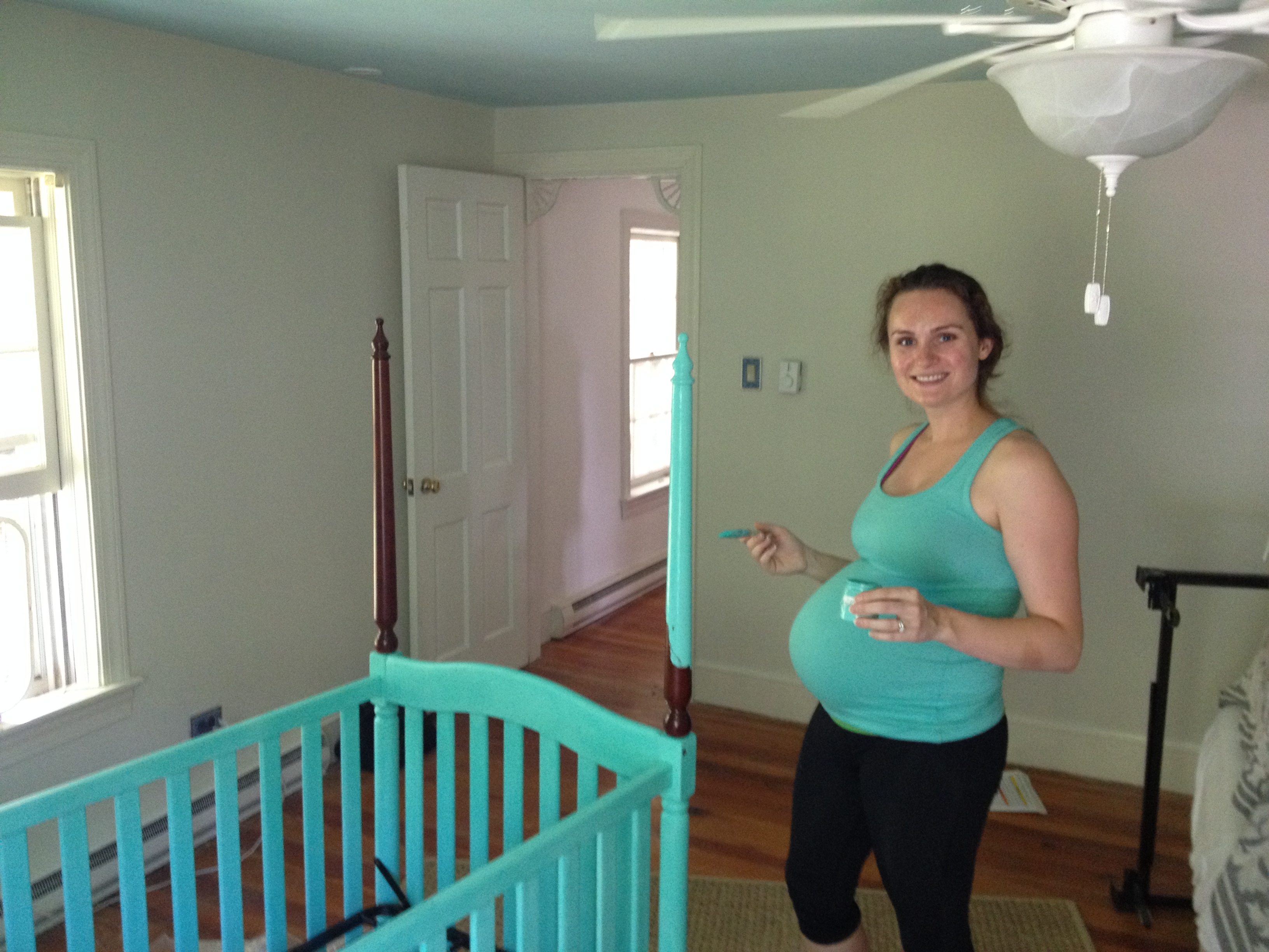 Painting A Crib With CeCe Caldwells Clay Paint