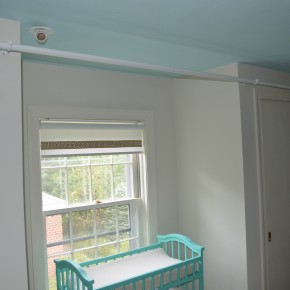 Curtain Rod in the Nursery