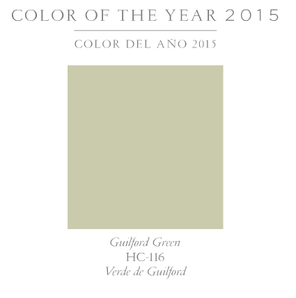benjamin moore color of year