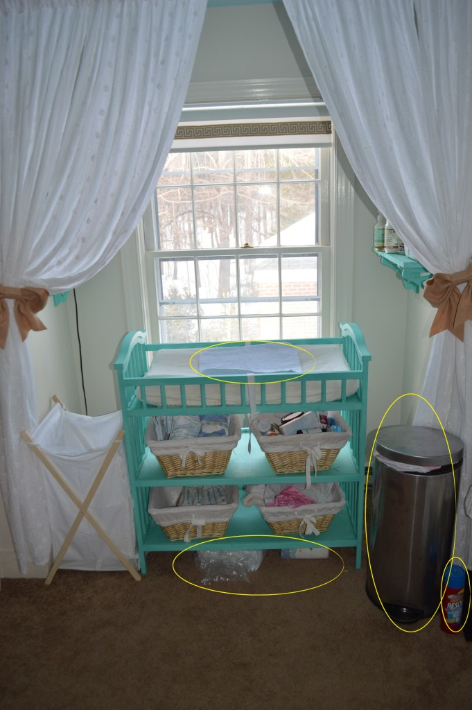 edited changing table