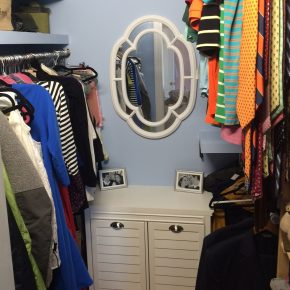 Walk-In Closet Accompli!