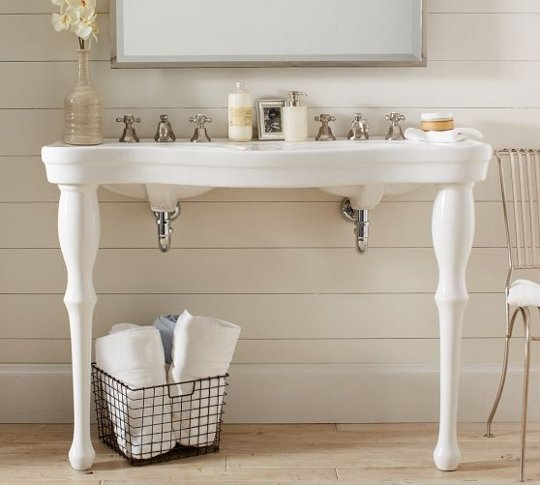 double console sink