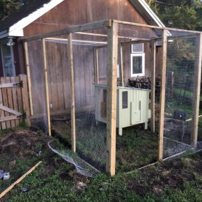 Building a Chicken Run -- A Weekend Project??