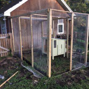 Building a Chicken Run -- A Weekend Project??