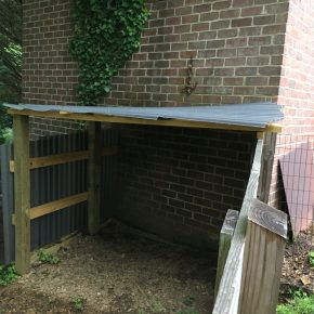 Making a Shed for Kune Kune Piglets