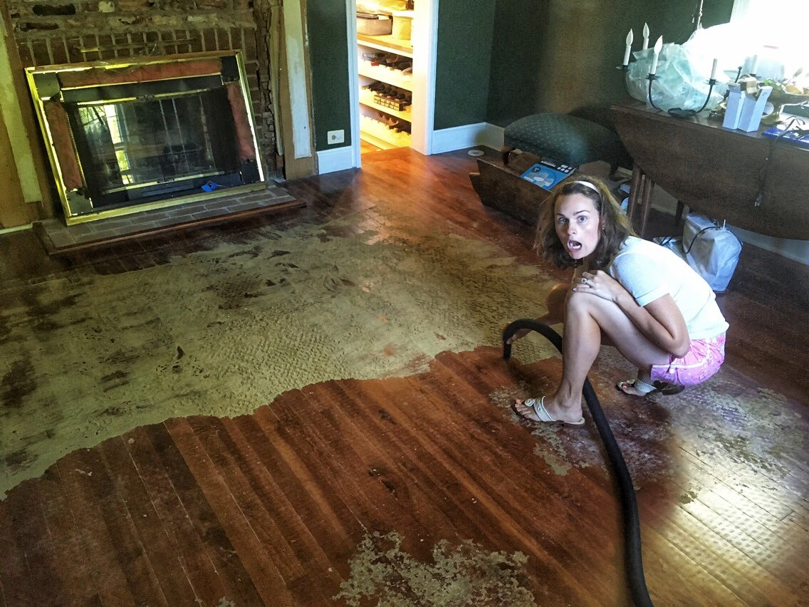 Cleaning A Disintegrated Sisal Rug Off Wood Floors
