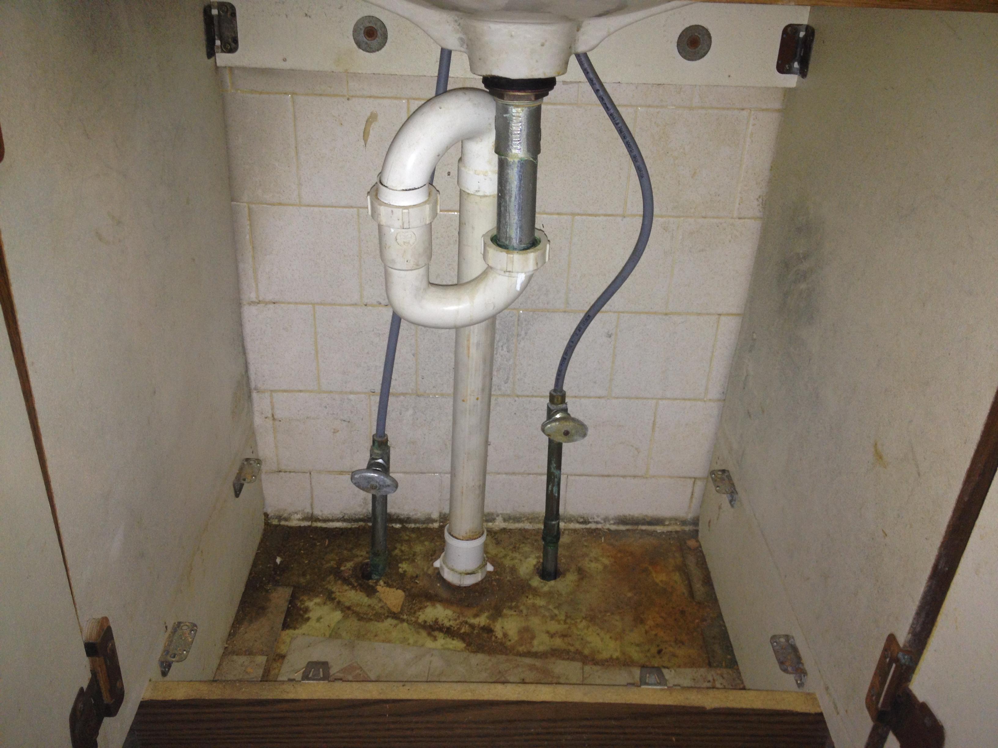 Replacing The Bathroom Sink Part 1 A Farmhouse Reborn